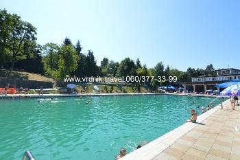 otvoreni bazen sa termalnom vodom u Banji Vrdnik